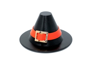 Thanksgiving Weasel Pilgrim Hat