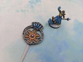 Snowflake Broach - RPG Prop