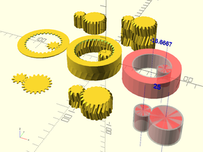 Satisfying Gears(Involute Gear Pair Generator)