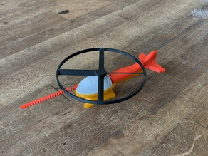 Flying Helicopter Toy (NEW)