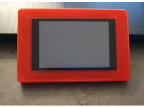 Raspberry Innot-maker 3.5 touchscreen - Switch plate Wall for 503 box (Italian)