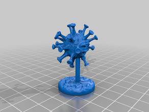 Corona Virus miniature