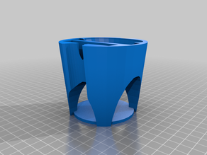 Cup Holder Insert Phone Stand V5