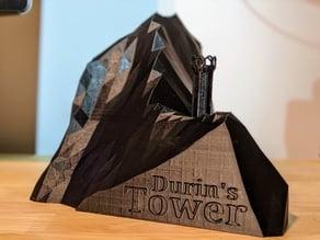Durin's Tower on Summit Zirakzigil: Gandalf and Balrog Battle of the Peak