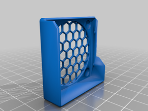 40mm Snap On Fan Guard for Prusa i3 MK3s - Screw Access
