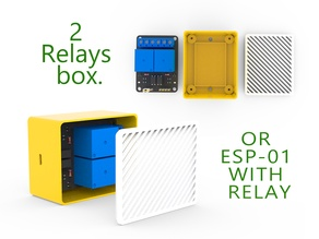 2 relays box or ESP-01 with relay