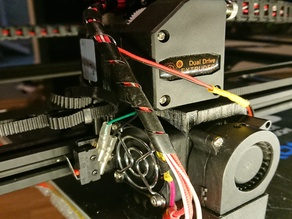 DualDrive & V6 direct drive mount for Tronxy X5S with the SBase firmware
