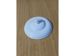 Spectra Breastpump Backflow Protector, Flange-side
