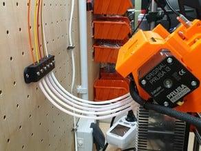 Prusa i3mk3 MMU2 teflon tube inlet wall mount