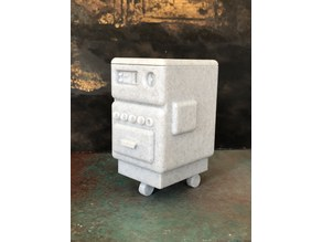 """Wallace and Gromit - """"A Grand Day Out"""" Robot - Cooker/Oven from the moon"""