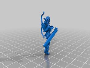 Female Elf Archer Ranger