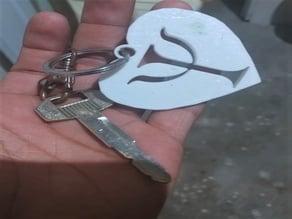 Logo Psycology Keychain