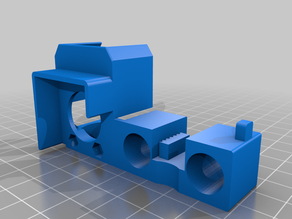 iNSTONE mini hotend mount/chassis