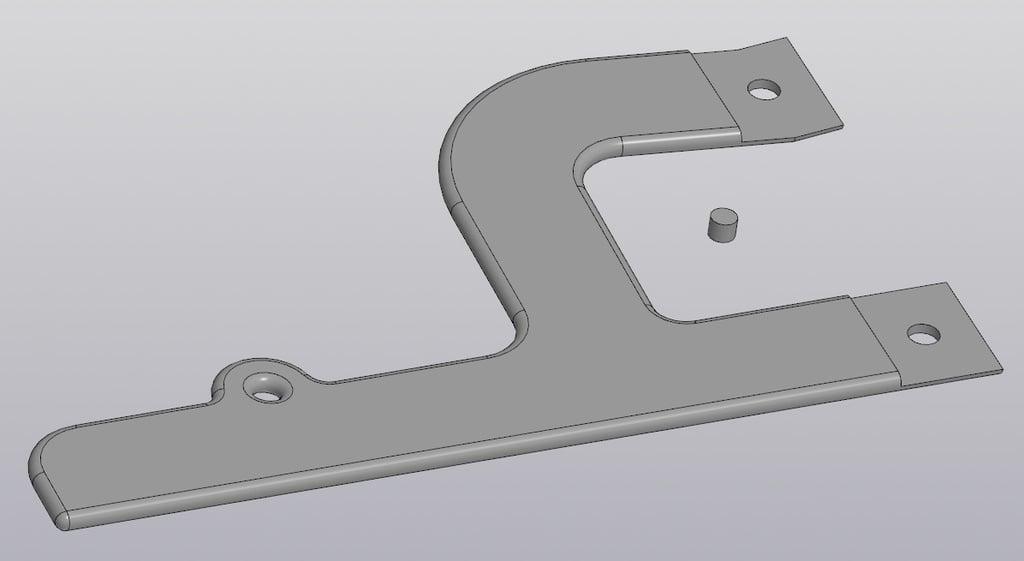 Bag frame handle