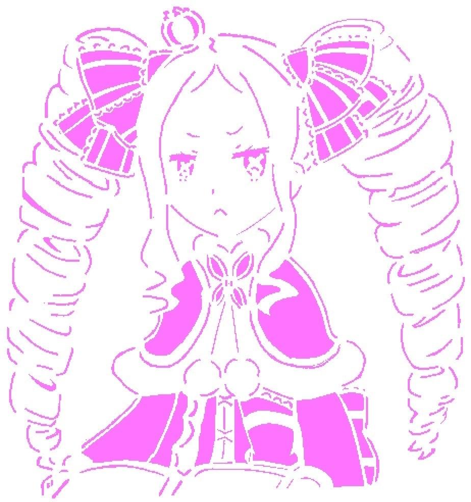 Beatrice stencil 2