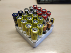 AA and AAA Battery Holder
