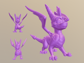 Spyro Reignited-Style Fan Made