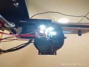Tri-ventilation + led CTC I3 Pro B (Prusa clone)