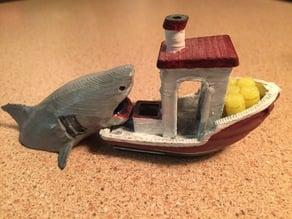 Jaws Benchy