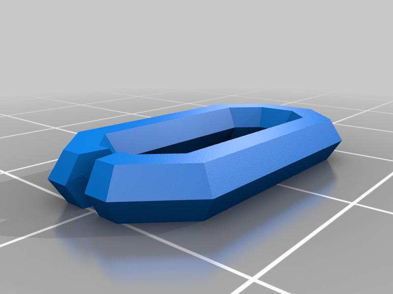 Easy print linkable chain