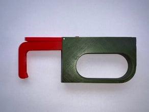 Jack hook - safe hygienic door opener, button pusher