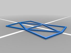 Triangular Art Stencil