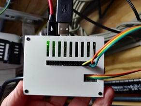 P1mon raspberry pi + protoboard case