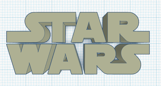 Star Wars Keychain | Tinkercad Import Lesson by Wooden ...