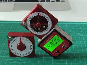 Angle gauge cube / inclinometer