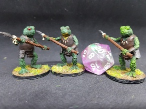 Bullywug for 28mm Tabletop Roleplay