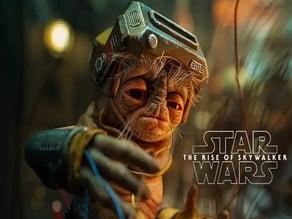 Babu Frik Helmet Star Wars The Rise of Skywalker