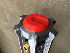 Ben Solo / Kylo Ren Lightsaber Clamp & Button mods