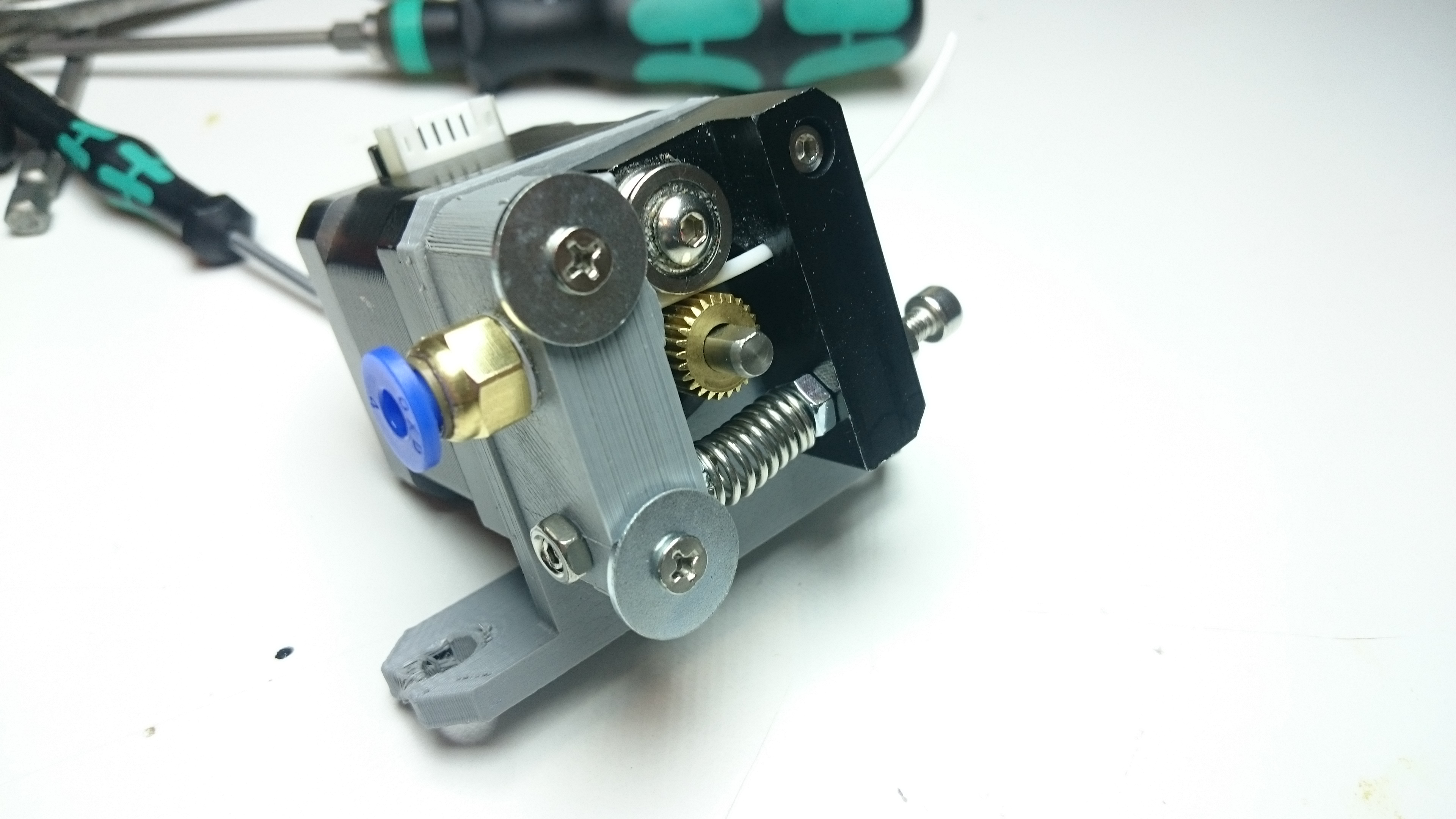 Anet A8 Bowden Extruder The Easy Way By Mafiatorte