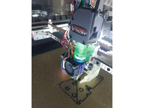 Volcano mount for standard and threaded heatsink to BMG on Railcore