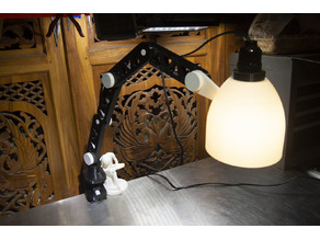Worktable Lamp - Smaller and Stronger