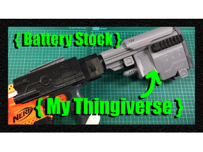 Blaster Battery Stock which work with Worker's stock attachment