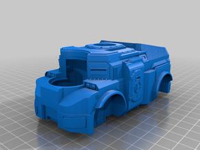 Mastiff v2 - centered turret