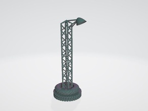 Lamp post for ex.gaslands