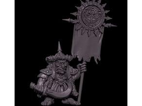 Chaotic Goblin Standard Bearer