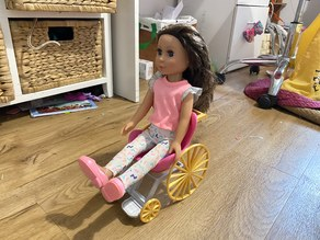 Barbie / Glitter Girl / Small Doll Wheelchair