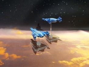 Minbari Shadow War Era Proto Fighter V2