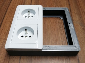 Frame for wall sockets from LIDL