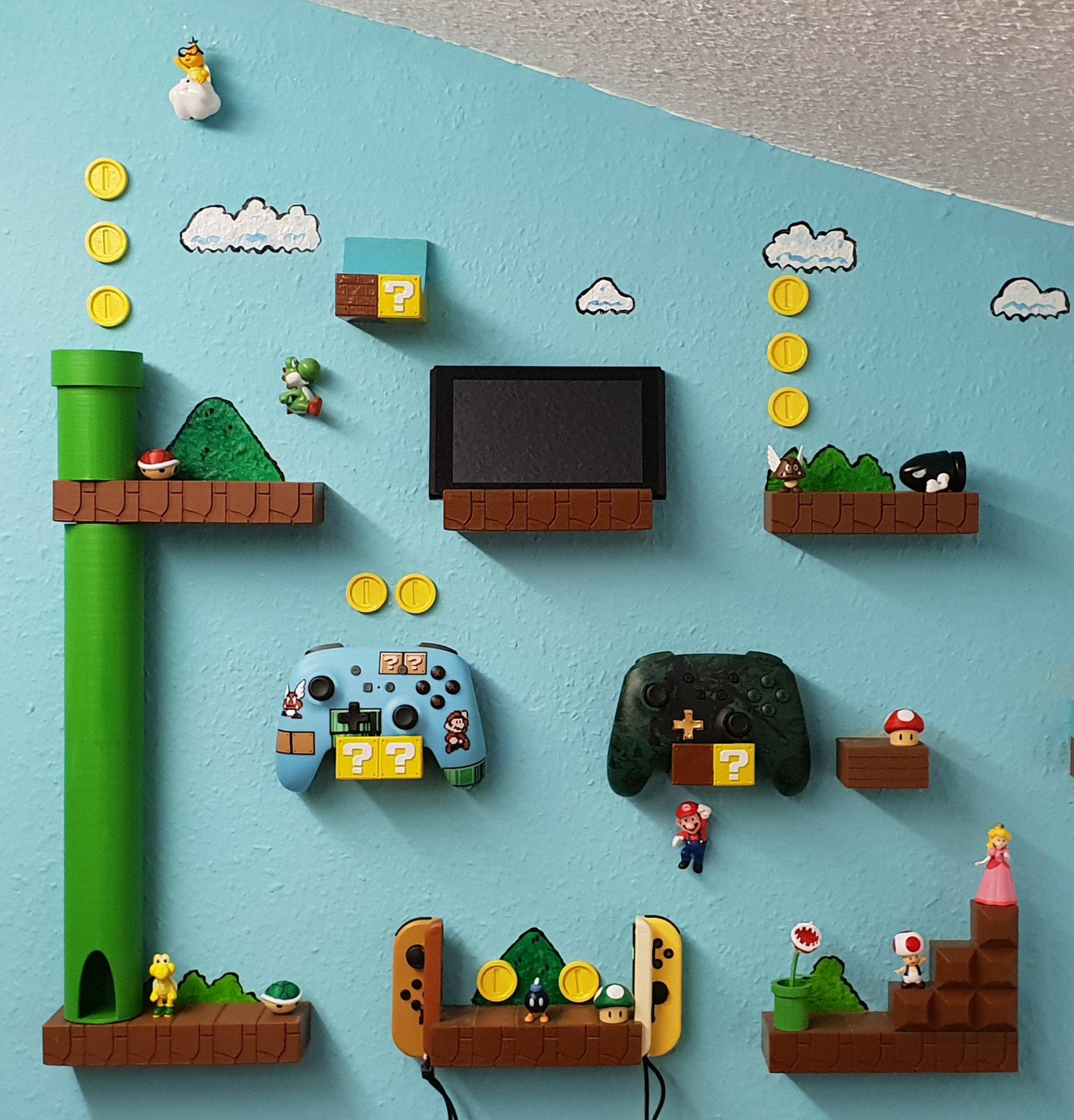 Super Mario World Nintendo Switch Controller Pro Joy Con