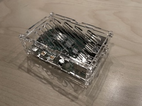 Stacking Pi 4 case