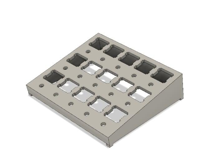 Mechanical keyboard switch 15 slots lube station