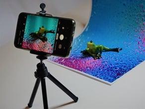 Adjustable stand for Instagram photos background