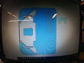 LowRider V2 Y Plate Mod. to LowRider V2 Hog dxf file.