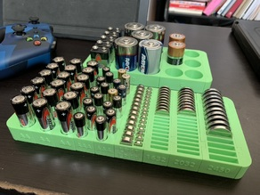 Jasond-Compatible Battery Holder Remixes and Additions