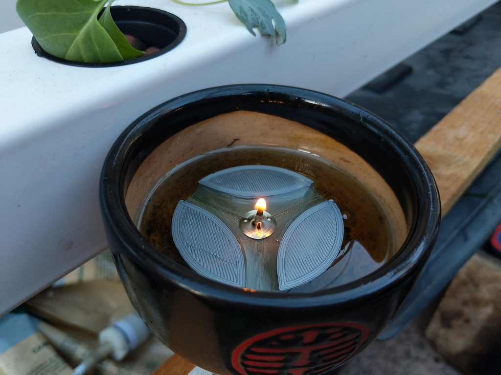 Floating Candle Oil Lamp