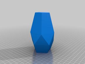 Pentagonal vase